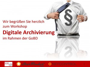 Digitale Archivierung